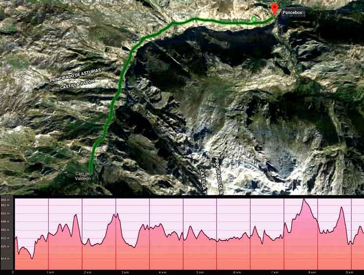 Ruta Del Cares Mapa.Ruta Del Cares En Asturias Precio Km Duracion Guiada