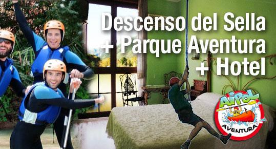 Parque Aventura en Asturias con Aipol Aventura