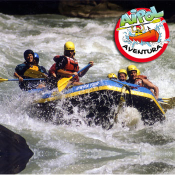 Actividad de rafting en Asturias