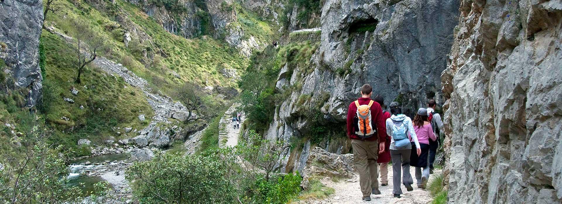 Ruta del Cares desde Caín a Poncebos - Principado de Asturias