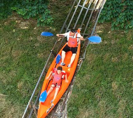 El descenso en canoa con la rampa más larga y rápida del sella